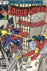 Spider-Woman (1978-1983) #20 Variant C: UK Edition