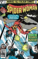 Spider-Woman (1978-1983) #21 Variant C: UK Edition