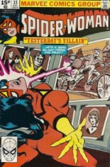Spider-Woman (1978-1983) #33 Variant C: UK Edition
