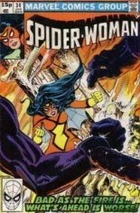 Spider-Woman (1978-1983) #34 Variant C: UK Edition