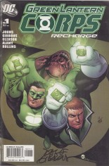 Green Lantern Corps: Recharge #1 Variant C: DF Signed Edition; Signed by Dave Gibbons