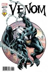 Venom (2017-2018) #6 Variant E: Legends Comics and Games Exclusive Variant Cover