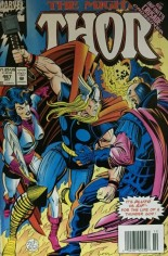 Thor (1966-1996) #467 Variant A: Newsstand Edition