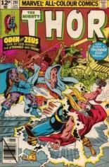 Thor (1966-1996) #291 Variant C: UK Edition