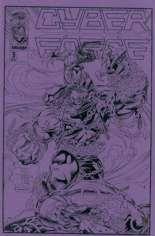 Cyberforce (1992-1993) #3 Variant B: Ashcan Edition