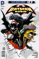 Batman and Robin (2011-2015) #0 Variant B: Direct Edition
