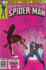 Spectacular Spider-Man (1976-1998) #55 Variant A: Newsstand Edition