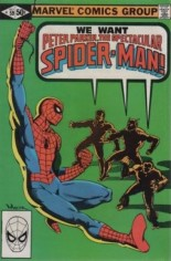 Spectacular Spider-Man (1976-1998) #59 Variant B: Direct Edition