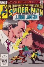 Spectacular Spider-Man (1976-1998) #80 Variant B: Direct Edition