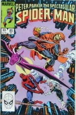 Spectacular Spider-Man (1976-1998) #85 Variant B: Direct Edition