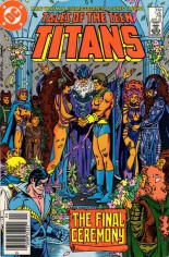 Tales of the Teen Titans (1984-1988) #76 Variant A: Newsstand Edition