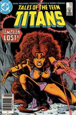 Tales of the Teen Titans (1984-1988) #77 Variant A: Newsstand Edition