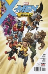 X-Men: Gold (2017-2018) #1 Variant M: 2nd Printing