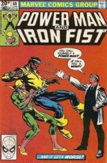 Power Man and Iron Fist (1978-1986) #68 Variant C: UK Edition