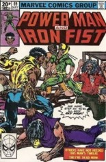 Power Man and Iron Fist (1978-1986) #69 Variant C: UK Edition