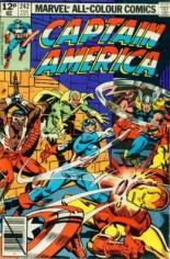 Captain America (1968-1996) #242 Variant C: UK Edition
