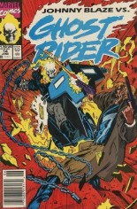 Ghost Rider (1990-1998) #14 Variant A: Newsstand Edition