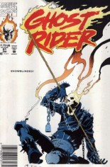 Ghost Rider (1990-1998) #21 Variant A: Newsstand Edition