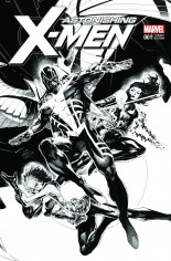 Astonishing X-Men (2017-Present) #1 Variant I: KRS Comics Exclusive Sketch Variant