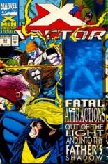X-Factor (1986-1998) #92 Variant C: Recalled Blue Hologram Error Cover; Wraparound Hologram Cover