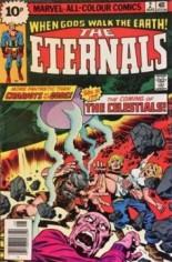Eternals (1976-1978) #2 Variant C: UK Edition