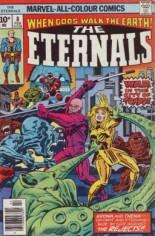 Eternals (1976-1978) #8 Variant B: UK Edition