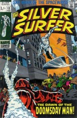 Silver Surfer (1968-1970) #13 Variant B: UK Edition