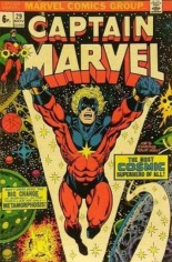 Captain Marvel (1968-1979) #29 Variant B: UK Edition
