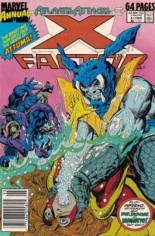 X-Factor (1986-1998) #Annual 4 Variant A: Newsstand Edition