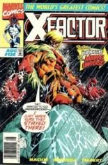 X-Factor (1986-1998) #136 Variant A: Newsstand Edition