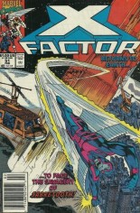X-Factor (1986-1998) #51 Variant A: Newsstand Edition