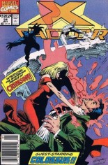 X-Factor (1986-1998) #54 Variant A: Newsstand Edition