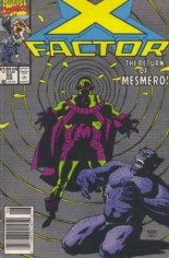 X-Factor (1986-1998) #55 Variant A: Newsstand Edition