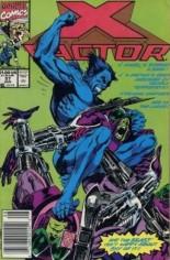 X-Factor (1986-1998) #57 Variant A: Newsstand Edition