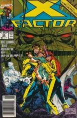 X-Factor (1986-1998) #66 Variant A: Newsstand Edition