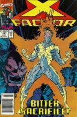 X-Factor (1986-1998) #68 Variant A: Newsstand Edition