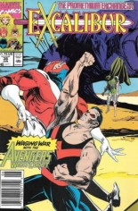 Excalibur (1988-1998) #38 Variant A: Newsstand Edition