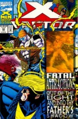 X-Factor (1986-1998) #92 Variant A: Newsstand Edition; Wraparound Hologram Cover