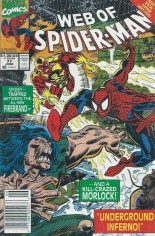 Web of Spider-Man (1985-1995) #77 Variant A: Newsstand Edition