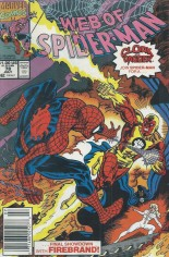 Web of Spider-Man (1985-1995) #78 Variant A: Newsstand Edition