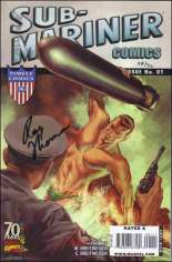 Sub-Mariner Comics 70th Anniversary Special (2009) #One-Shot  Variant D: DF Signed by Roy Thomas 1/90