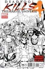 Deadpool Kills the Marvel Universe (2012) #4 Variant B: 2nd Printing