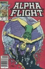 Alpha Flight (1983-1994) #4 Variant A: Newsstand Edition