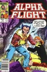 Alpha Flight (1983-1994) #13 Variant A: Newsstand Edition