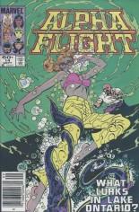 Alpha Flight (1983-1994) #14 Variant A: Newsstand Edition