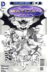 Batman Incorporated (2012-2013) #0 Variant C: Sketch Cover