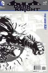 Batman: The Dark Knight (2011-2014) #0 Variant B: Sketch Cover