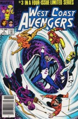 West Coast Avengers (1984) #3 Variant C: $1.00 Variant