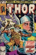 Thor (1966-1996) #294 Variant C: UK Edition