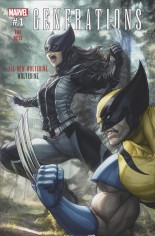 Generations Wolverine & All-New Wolverine #1 Variant E: Fan Expo 2017 Exclusive Color Variant